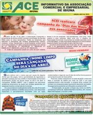 Informativo - ACE Ibiuna - Abril 2015