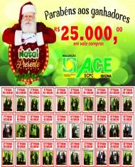 Ganhadores Promoção Natal Presente 2018
