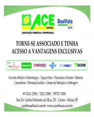 TORNE-SE ASSOCIADO E TENHA ACESSO A VANTAGENS EXCLUSIVAS