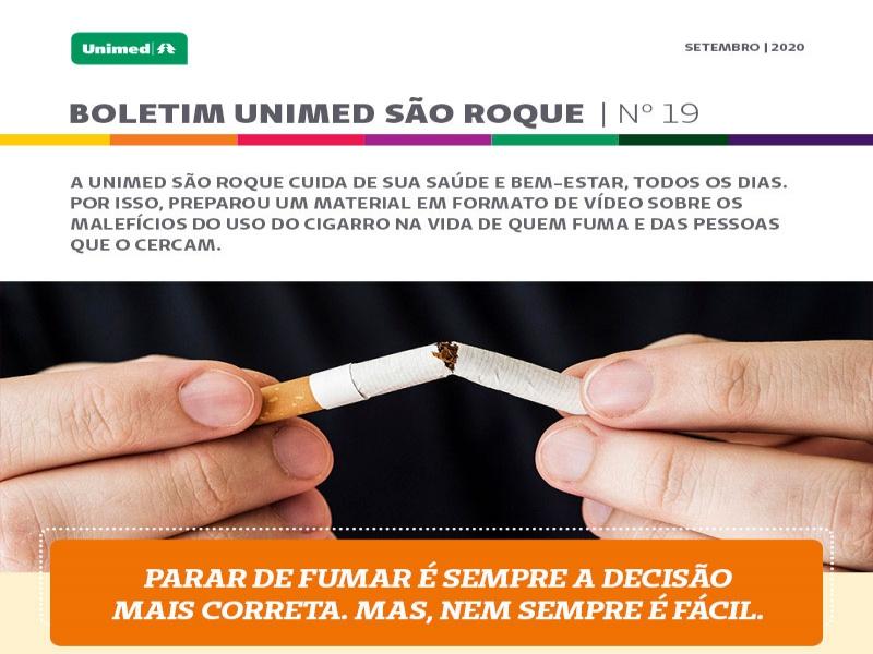 Vamos falar de tabagismo?